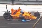 [Video] Gặp tai nạn khi đua thử F1, Fernando Alonso may mắn thoát chết
