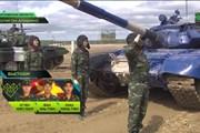Thượng tướng Phan Văn Giang xem Việt Nam thi đấu ở Army Games
