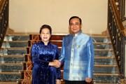 [Photo] Chủ tịch Quốc hội hội kiến Thủ tướng Thái Lan