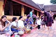 [Photo] Lào: Lễ Okphansa mang đậm nét đẹp văn hóa đặc sắc