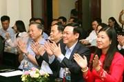 Lãnh đạo Đảng, Nhà nước, MTTQ dự Ngày hội Đại đoàn kết toàn dân tộc