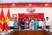 [Photo] Đại hội Chi bộ khối Chuyên trách TTXVN nhiệm kỳ 2020-2022