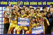 Cận cảnh U17 SLNA lên ngôi vô địch U17 Quốc gia sau 8 năm chờ đợi