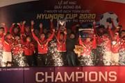 Khoảnh khắc FC Du Lịch lần đầu tiên vô địch sân chơi 'phủi' HPL-S8