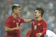 Quang Hải lập siêu phẩm, đội tuyển Việt Nam vẫn để U22 cầm hòa