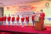 Cận cảnh Lễ xuất quân Đoàn Thể thao Việt Nam tham dự Olympic Tokyo