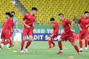 Tuyển Việt Nam làm quen sân thi đấu chính thức, sẵn sàng tạo bất ngờ