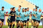 Cận cảnh đội hình Australia đắt gấp 10 lần tuyển Việt Nam tập luyện