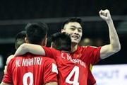 Khoảnh khắc futsal Việt Nam vỡ òa khi vào vòng 1/8 World Cup 2021