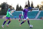 Đội tuyển nữ Việt Nam sẵn sàng cho trận đầu tiên ở vòng loại Asian Cup