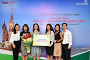 Trao thưởng gần 500 triệu đồng cho khách hàng giành giải Kim Cương