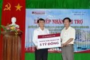 Tài trợ 5 tỷ đồng xây dựng trường mầm non tại huyện đảo Lý Sơn