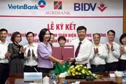 Ba ngân hàng 'bắt tay' đồng triển khai dịch vụ thanh toán điện tử