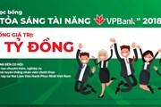 Ra mắt quỹ học bổng tài năng VPBank cho sinh viên kế, tài chính