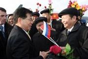 Chủ tịch nước bắt đầu thăm chính thức Liên bang Nga
