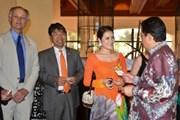 Đại sứ du lịch VN chúc mừng chiến thắng Philippines