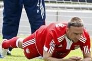 """Franck Ribery """"thụ án"""" ở """"nhà tù"""" Munich"""