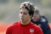 Arsenal mất Nasri 3 tháng