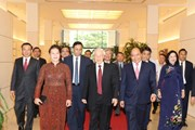 Hình ảnh Lễ kỷ niệm 50 năm thực hiện Di chúc của Chủ tịch Hồ Chí Minh