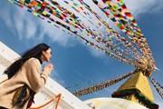 [Photo] Thời trang đi 'du lịch khắp thế gian' của Hoa hậu Tường Linh