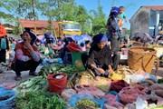 [Photo] Sắc màu nông sản của bà con Hà Nhì ở chợ phiên Y Tý