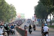 TP.HCM thông xe cầu vượt nút giao Nguyễn Thái Sơn-Nguyễn Kiệm
