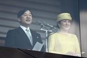 Người dân xếp hàng chờ đón lần đầu xuất hiện của tân Nhật hoàng