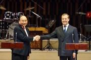 Hình ảnh lễ khai mạc Năm hữu nghị chéo Việt-Nga tại Moskva