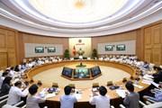Thủ tướng Nguyễn Xuân Phúc chủ trì phiên họp Chính phủ thường kỳ