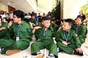 [Photo] Khai giảng Học kỳ quân đội 'Phóng viên chiến trường nhí'