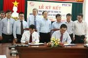 Lễ ký thỏa thuận hợp tác thông tin giữa TTXVN và UBND tỉnh Ninh Thuận