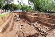 [Photo] Quang cảnh khu vực chính điện Kính Thiên sau khai quật