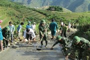[Photo] Quân đội giúp dân trong lao động sản xuất, phát triển kinh tế