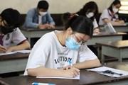 [Photo] Thí sinh cả nước trong ngày đầu Kỳ thi tốt nghiệp THPT 2021