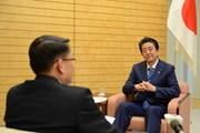 Hình ảnh hoạt động của đoàn đại biểu TTXVN tại Nhật Bản