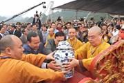 Hình ảnh Lễ rước nước, rước chuông Khai hội chùa Tam Chúc