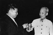 Hình ảnh Chủ tịch Hồ Chí Minh thăm Triều Tiên năm 1957