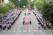 Hình ảnh học sinh cả nước náo nức trong lễ khai giảng năm học mới
