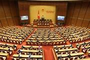 Hình ảnh lễ khai mạc Kỳ họp thứ chín, Quốc hội khóa XIV