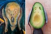 Thử thách tái hiện tác phẩm nghệ thuật từ các đồ vật quanh mình