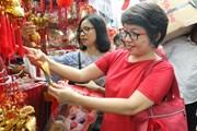 [Photo] Người Việt tìm không khí Tết quê nhà ở Jakarta