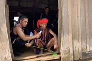 [Photo] Lễ cầu mưa của người Jrai ở Gia Lai trong ngày nắng hạn