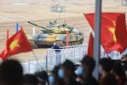 [Photo] Đội tuyển Xe tăng Việt Nam thi đấu chung kết Tank Biathlon