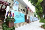 [Photo] Hà Nội trang hoàng cờ hoa chào mừng Đại hội đồng AIPA 41