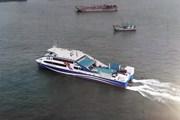 [Photo] Chính thức khai trương tuyến phà biển Cần Giờ-Vũng Tàu