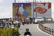 TP.HCM trang hoàng đường phố chào mừng ngày hội toàn dân đi bầu cử