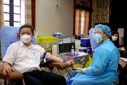 [Photo] TP.HCM: Hiến máu bổ sung cho ngân hàng máu đang cạn kiệt