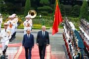 [Photo] Thủ tướng đón, hội đàm với Thủ tướng Australia Scott Morrison
