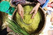 [Photo] Hà Nội: Đau đáu nghề cốm Vòng khi làng trở thành phố