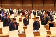 [Photo] Quốc hội tưởng niệm đại biểu Quốc hội Nguyễn Văn Man